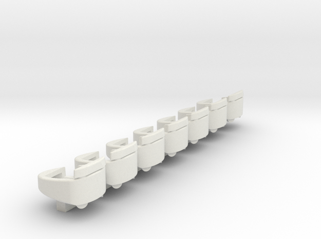 new style tilt tubs without bonnett  in White Natural Versatile Plastic