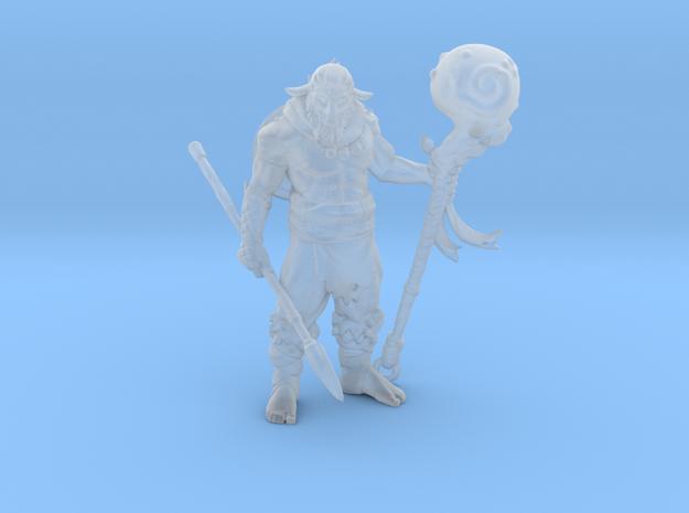 Firbolg Druid in Smooth Fine Detail Plastic