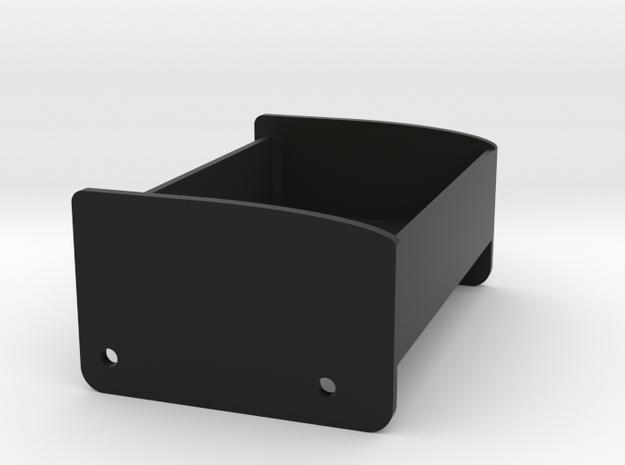 JK Battery Tray in Black Natural Versatile Plastic