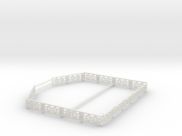 tango fence in White Natural Versatile Plastic
