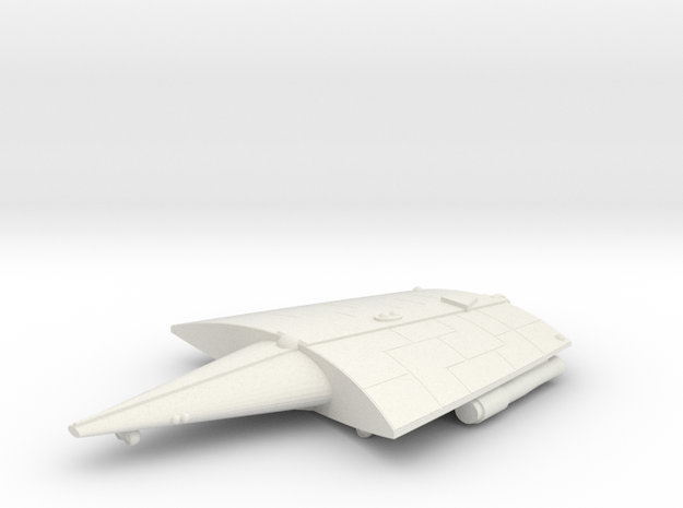 3788 Scale Hiver Battlecruiser (BC) MGL in White Natural Versatile Plastic
