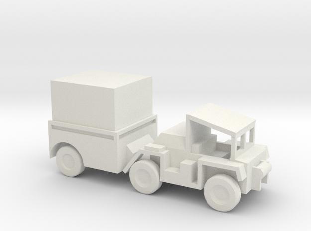 1/100 Scale M561Gama Goat Box in White Natural Versatile Plastic