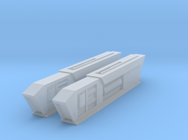 2500 Turtleshell Antagonist Nacelles 2 in Smooth Fine Detail Plastic