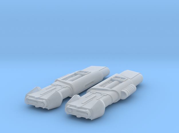 2500 Pointy-Eared Adversary Stormbird Nacelles in Smooth Fine Detail Plastic