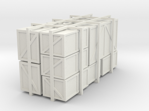 Assorted HO packing crates