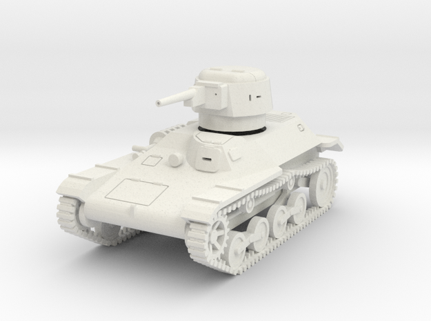 PV46 Type 97 Te Ke Tankette (1/48) in White Natural Versatile Plastic