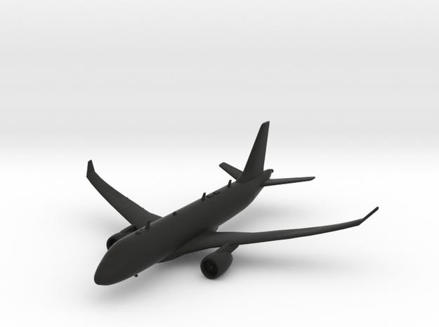 Airbus A220-100 in Black Natural Versatile Plastic