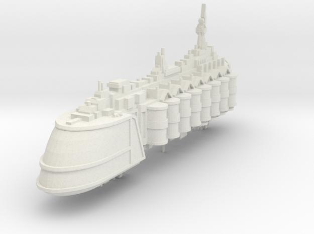 Barcaza de suministros de comerciantes independien in White Natural Versatile Plastic