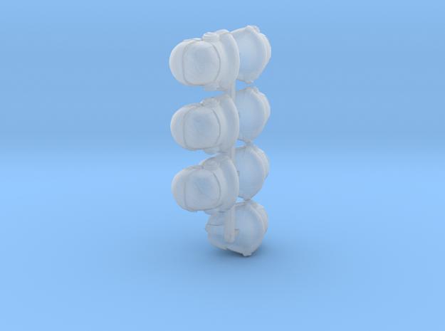 Heavy Duty Bucketheads (x7) in Smoothest Fine Detail Plastic