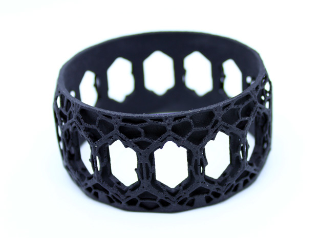 BRACELET GOTHIK in Black PA12