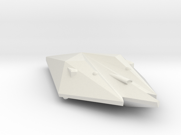 3788 Scale Singer Frigate (FF) MGL in White Natural Versatile Plastic