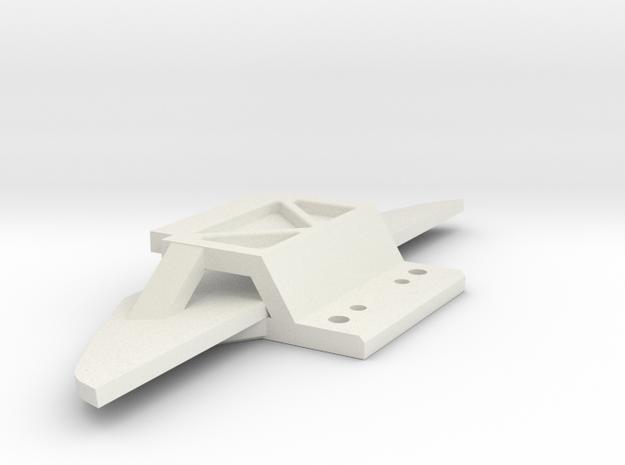 Jomu Front für Magnet Achse in White Natural Versatile Plastic