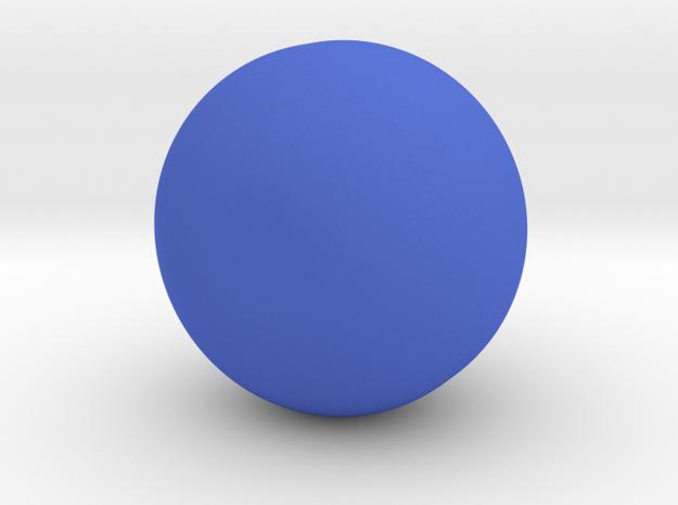 Potion Vase in Blue Processed Versatile Plastic