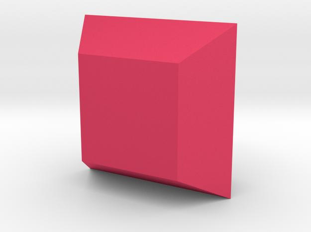 Corsage Box Planter in Pink Processed Versatile Plastic
