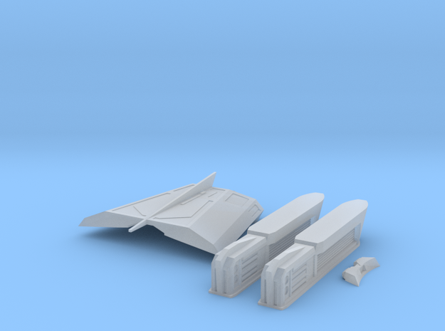 Pointy-Eared Adversary NiteFlyer Conversion Parts in Smooth Fine Detail Plastic
