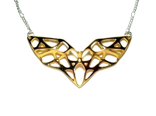 Goldmine Necklace in Polished Brass