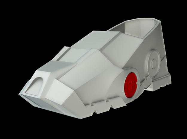Iron Man Mark IV/VI Boot Joint (x1) Parts 3&4 3d printed CG Render (Joint with full boot)