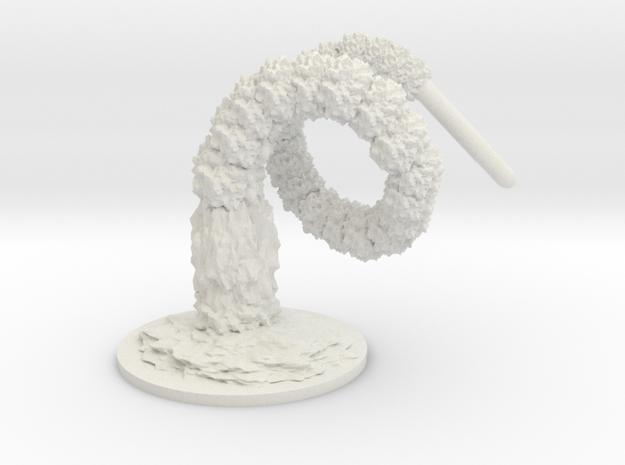 D5 Trident Failed in White Natural Versatile Plastic