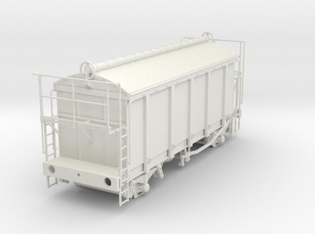 7mm PRA China clay wagon in White Natural Versatile Plastic