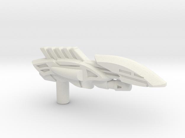 Octopunch Harpoon Gun, 5mm Grip in White Natural Versatile Plastic