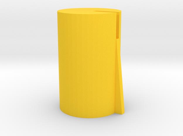 Roland BOSS 6mm Knob Inner Colour (2/2) in Yellow Processed Versatile Plastic