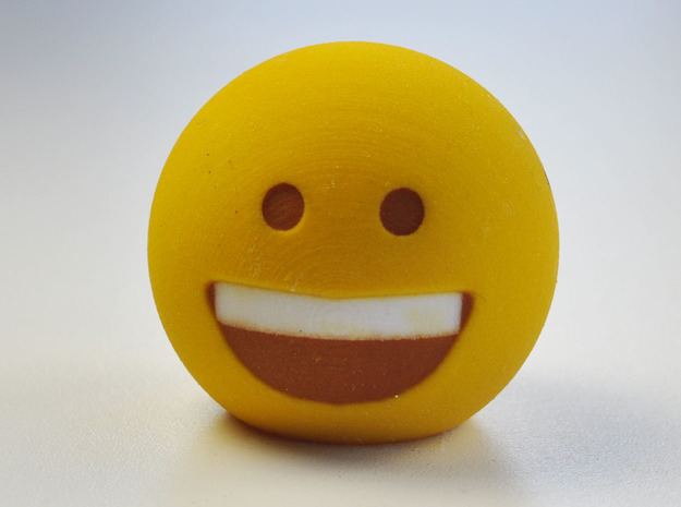 3D Emoji So Happy!