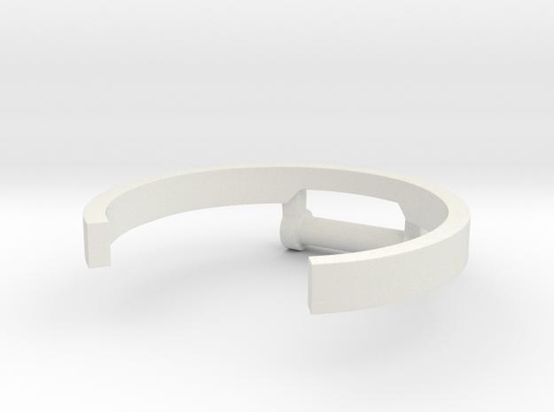 Hulkbuster Connector in White Natural Versatile Plastic: Medium