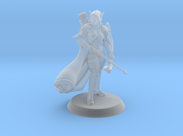 Sylvanas in Smoothest Fine Detail Plastic