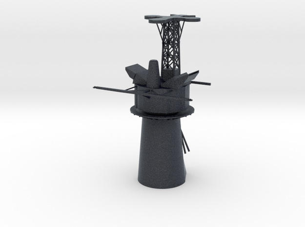 1/96 Scale Knox Class Mast/Stack in Black PA12