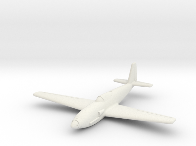 (1:144) Heinkel P.1076 in White Natural Versatile Plastic