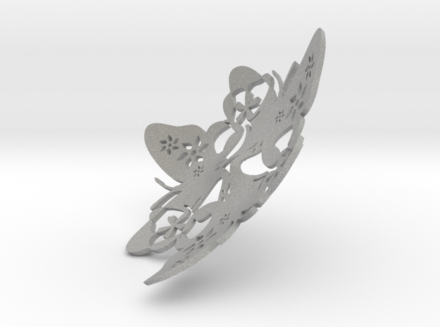Butterfly Bowl 1 - d=20cm in Aluminum
