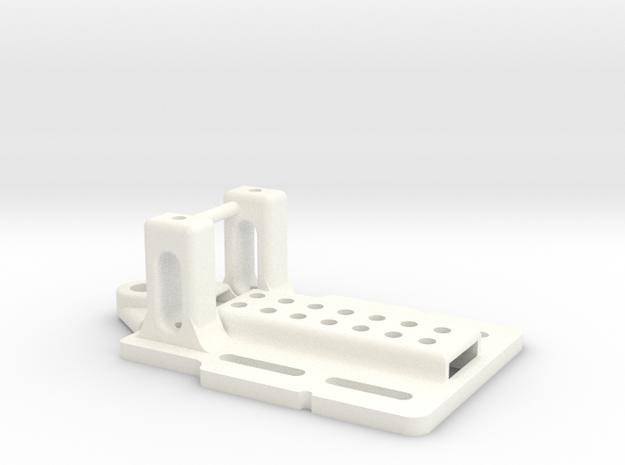 puente simple 1_24 in White Processed Versatile Plastic