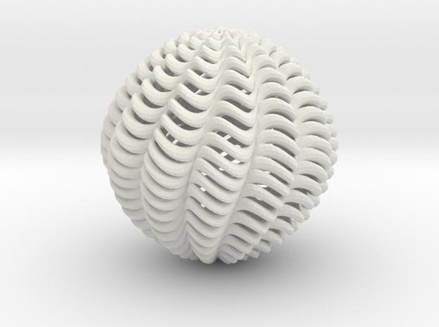 twistball 12 in White Natural Versatile Plastic