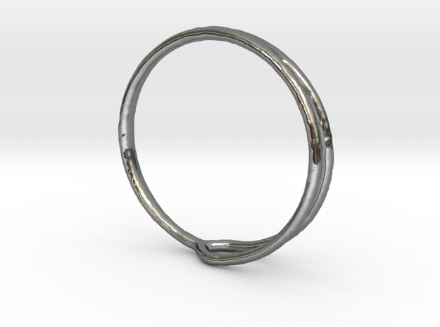 Ring 04 in Polished Silver