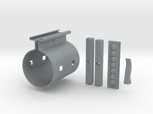 Graflex Clamp in Polished Metallic Plastic