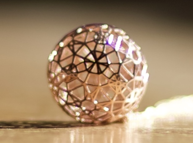 Delicacy in 14k Rose Gold Plated Brass
