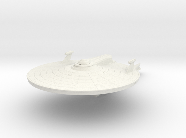 2500 Hermes refit mk5 Phoenix class in White Natural Versatile Plastic