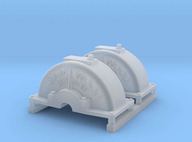 Dragon Wagon Winch Cover Set in Smoothest Fine Detail Plastic