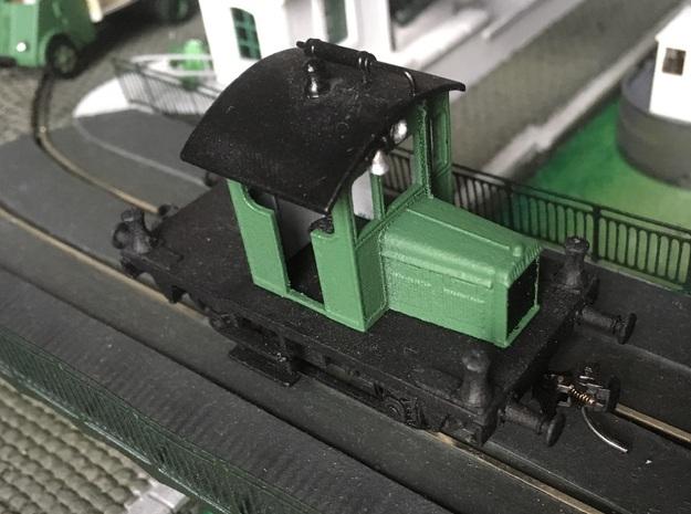 Locotracteur Berliet - Switcher - HO - 1/87 in Smooth Fine Detail Plastic