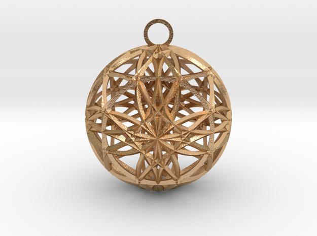 earh6d8x0.6 in Natural Bronze