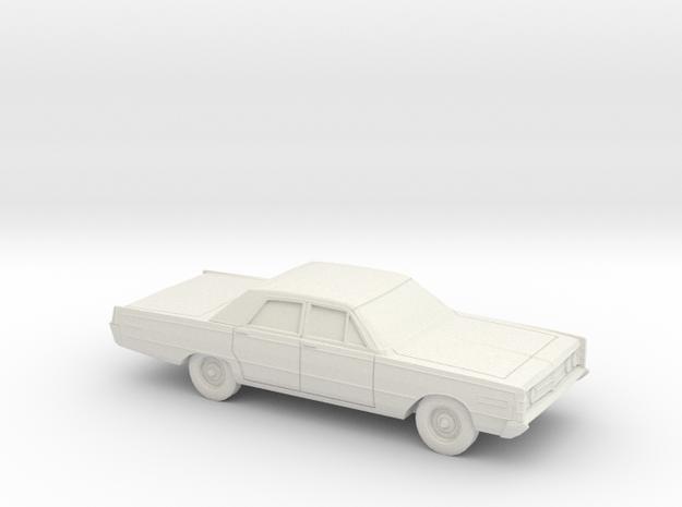 1/64 1966 Mercury Monterey Sedan in White Natural Versatile Plastic