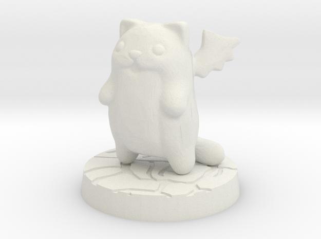 SDE monster cat spawn floater in White Natural Versatile Plastic
