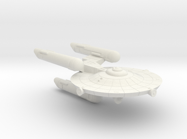 3125 Scale Federation War Destroyer Scout WEM in White Natural Versatile Plastic