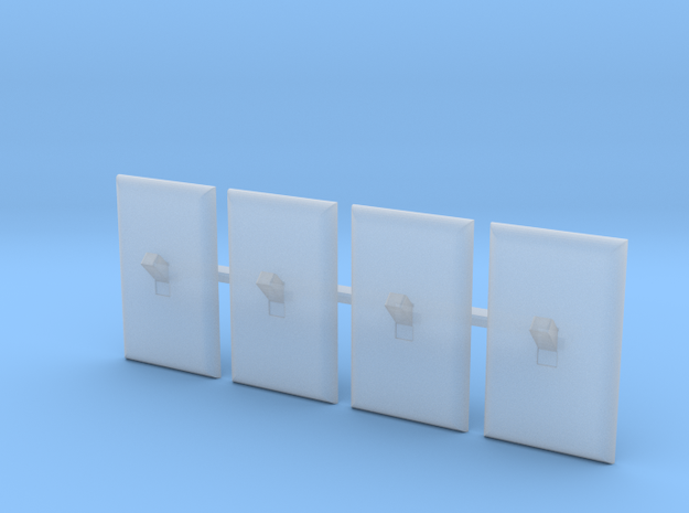 Light Switch Faces Only, 1/12 Scale