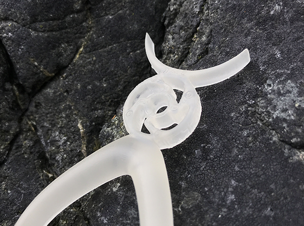Taurus - Hair Pin - Astrology in Smoothest Fine Detail Plastic