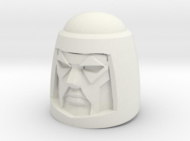 Cy-Kill Head for PotP Wreck-Gar (4mm socket) in White Natural Versatile Plastic: Medium