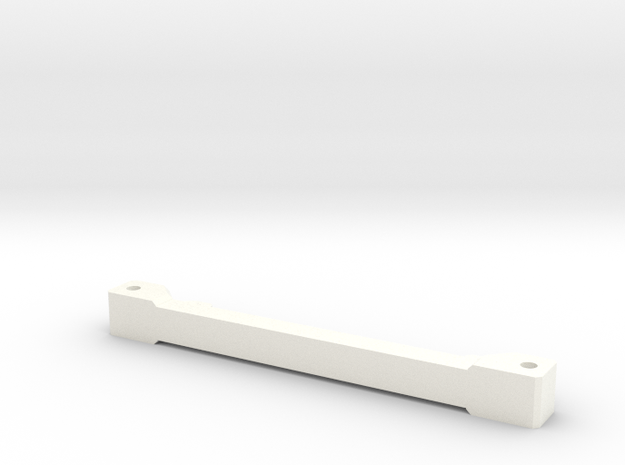Rear Support Lift Beam in White Processed Versatile Plastic