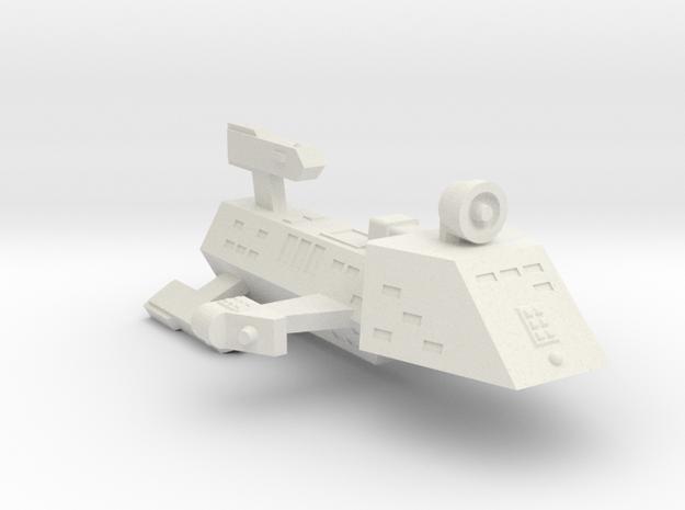 3125 Scale Kzinti Escort Frigate (EFF) SRZ in White Natural Versatile Plastic