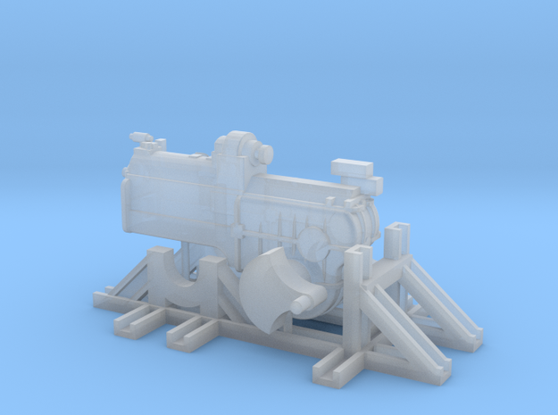 Getriebe V60 DB in Smooth Fine Detail Plastic