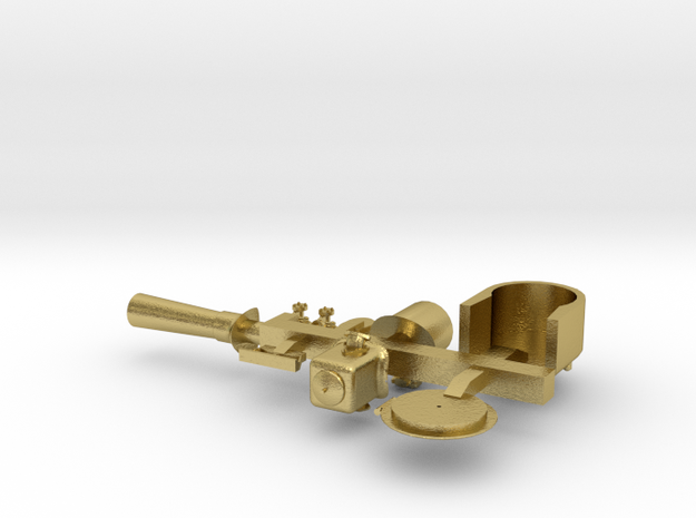 MMW-4806-2 Fowler Boiler parts ver 1 in Natural Brass